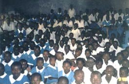 [300 children came to hear about Jesus.]